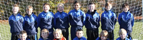 Under 11's Blacks say Thank you to Nuffield Health