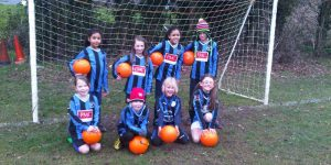 Girls Saturday Soccer School had a friendly against Stotfold