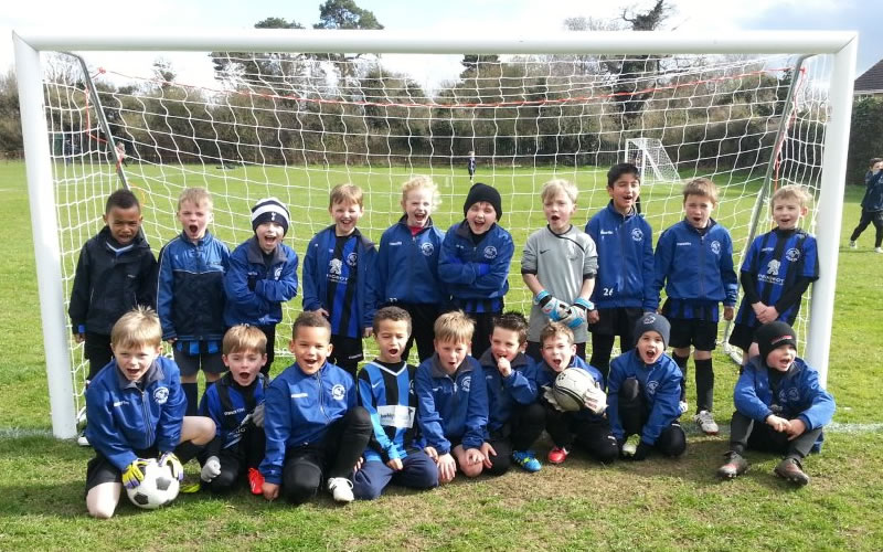 Letchworth u7s Eagles Gold and Silvers