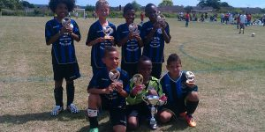 Letchworth Eagles U8s Win at Cheshunt