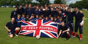Eagles host training for the Great Britain Deaf team before they compete in Europe