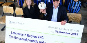 Barratt Homes  help the Eagles